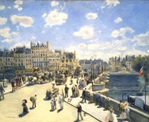 Pont Neuf - Paris by August Renoir